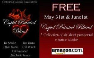 cupid painted blind free on amazon