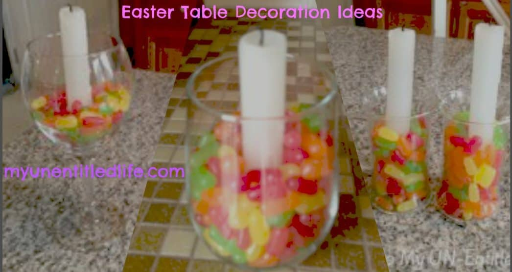 Easter Table Decorations under $5