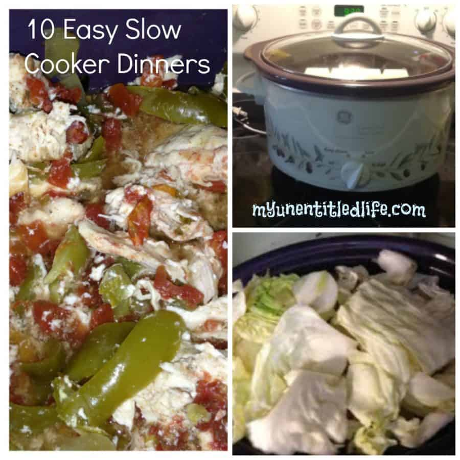 10 Easy Slow Cooker Dinners