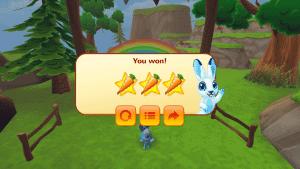 Bunny Math app