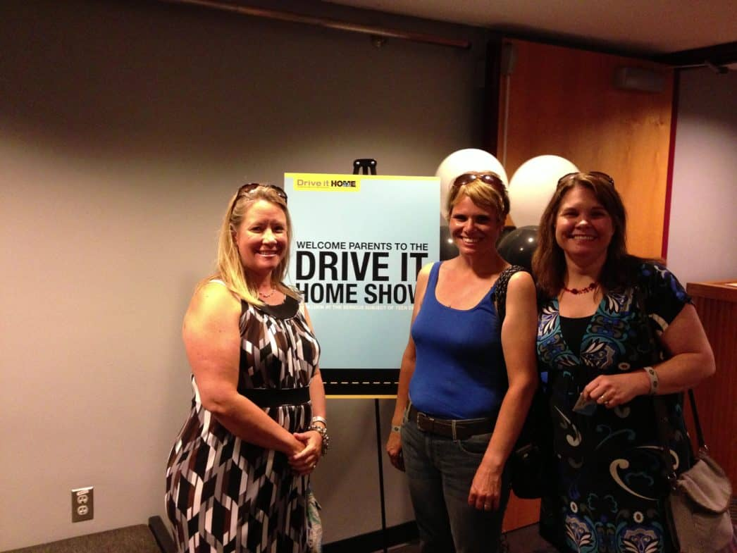 My friends and I at the drive it home event.