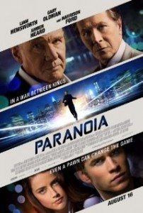 paranoia movie review