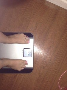 weight loss weekly weigh in