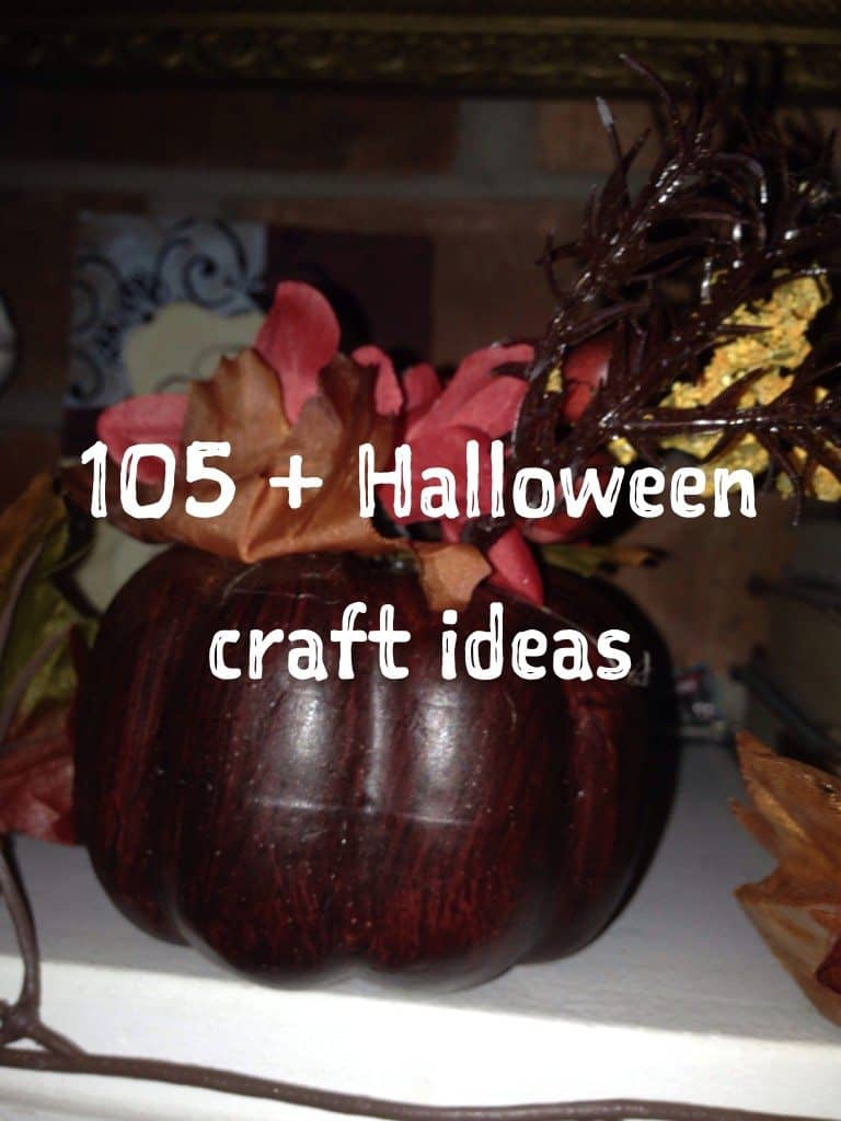 105 halloween craft ideas