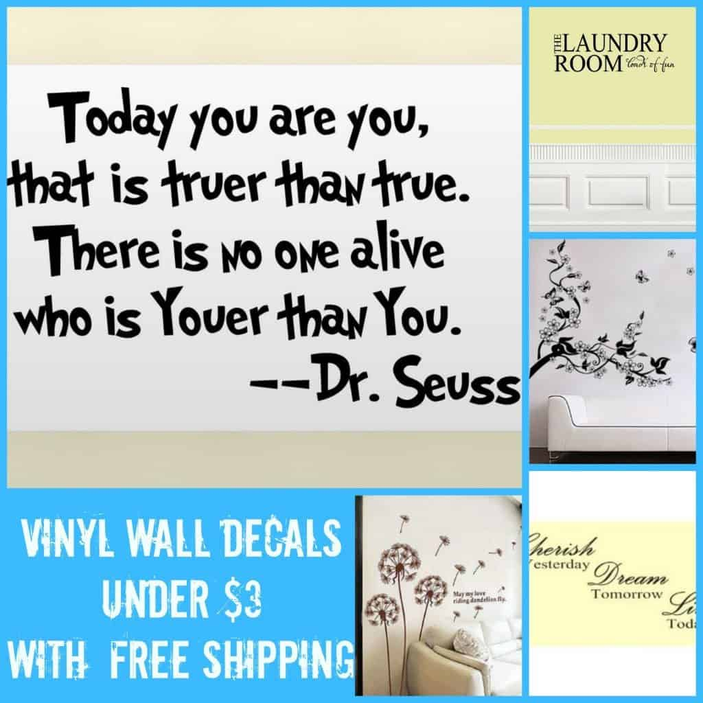 Wall Decal Collage