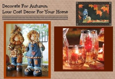 autumn decorations on the cheap