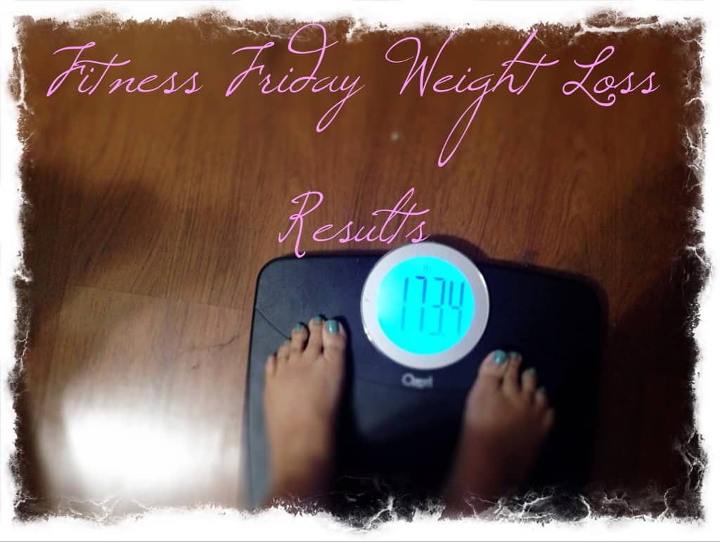 fitness friday losing weight