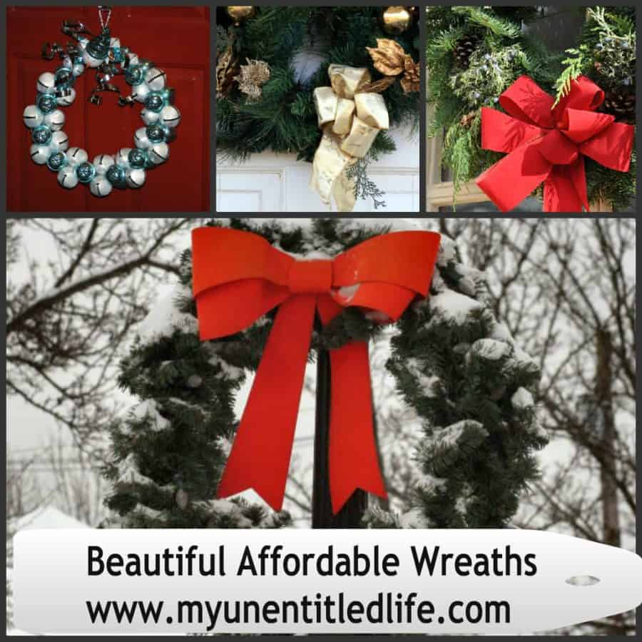 beautiful affordable wreaths