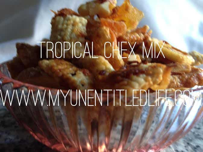 tropical island chex mix recipe