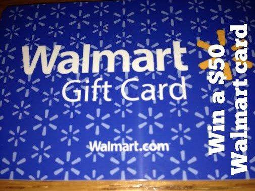 win a walmart gift card
