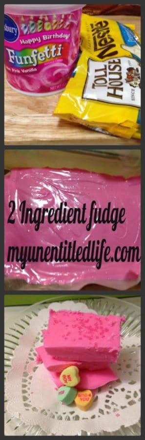 2 ingredient fudge