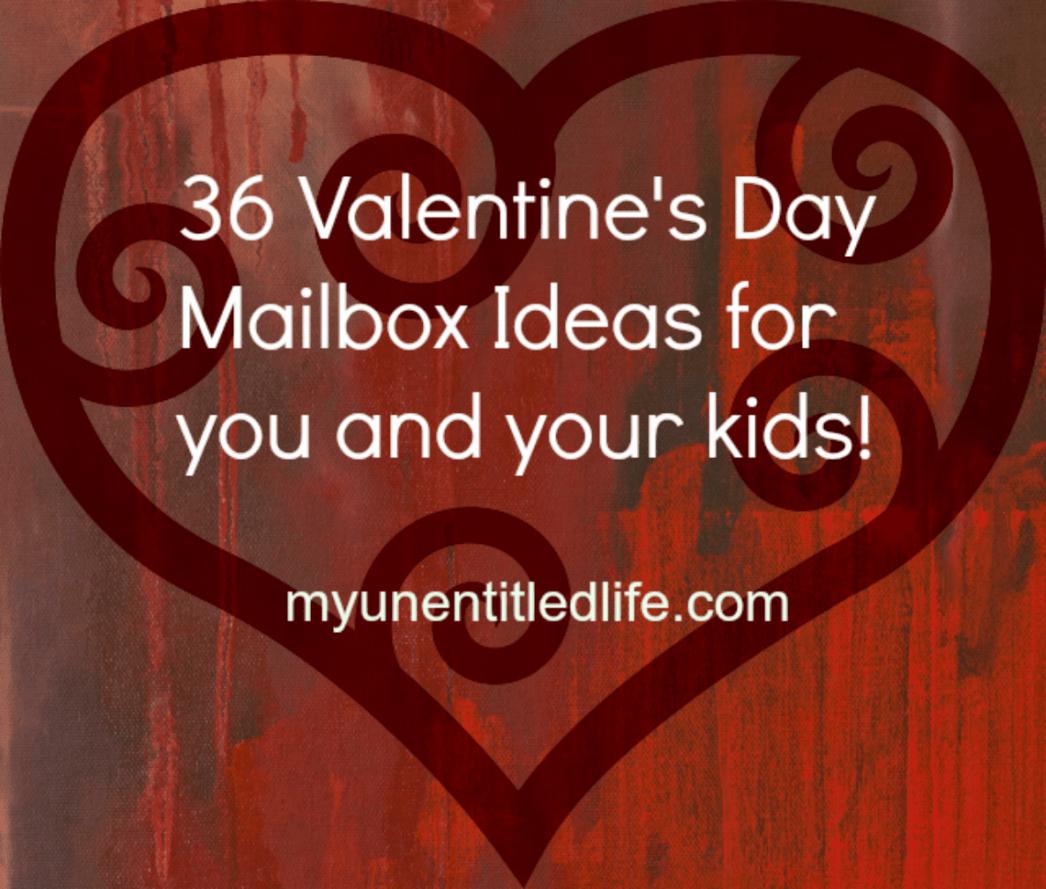 Valentine's Day Mailbox ideas for kids