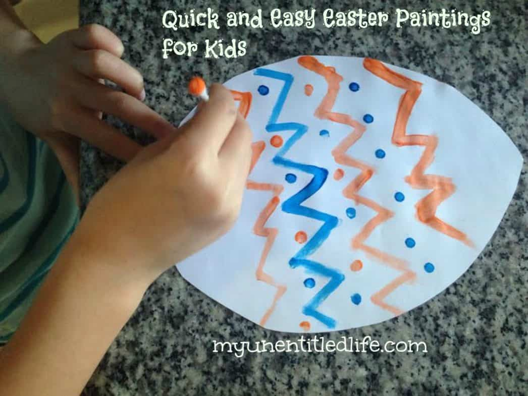 Easter painting for kids