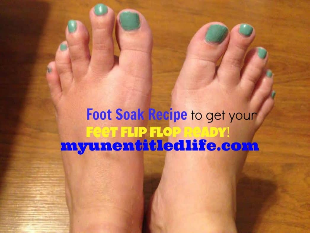 foot soak recipe