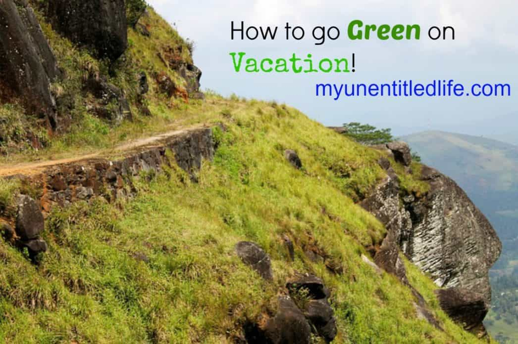 go green on vacation 1