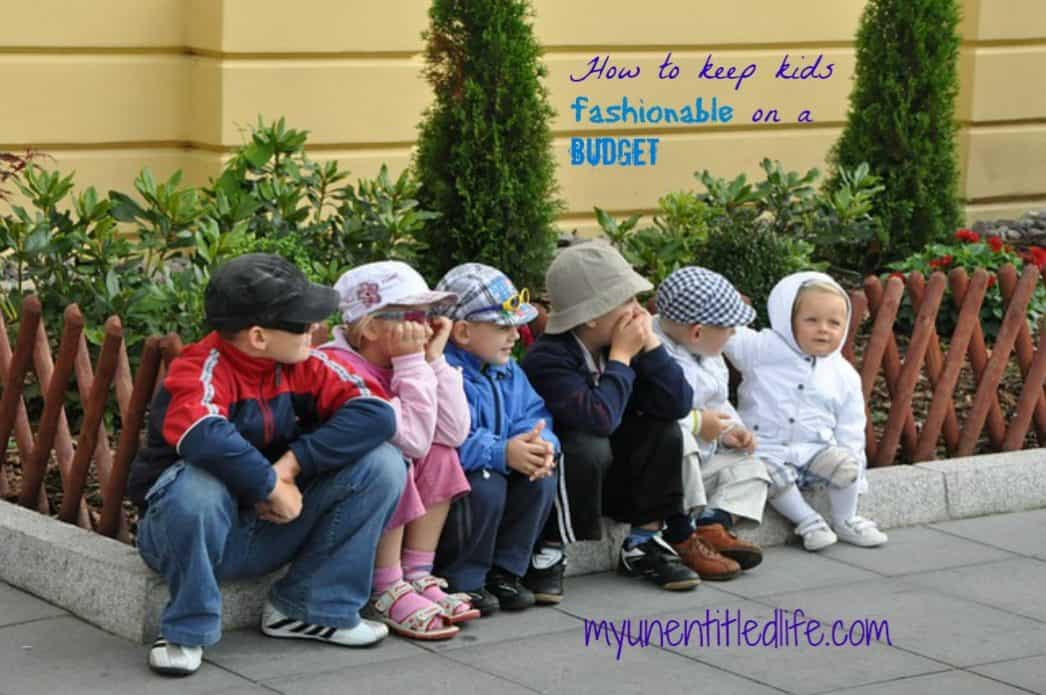 kids clothing on a budget