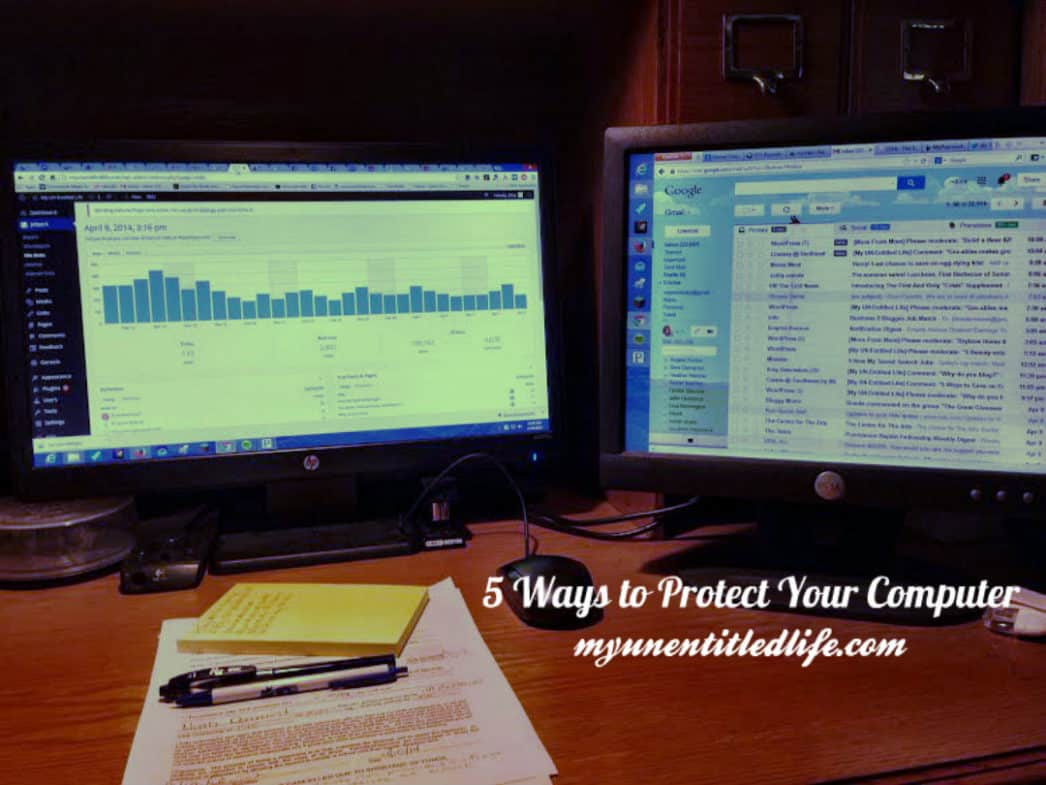 5 ways to protect your computer