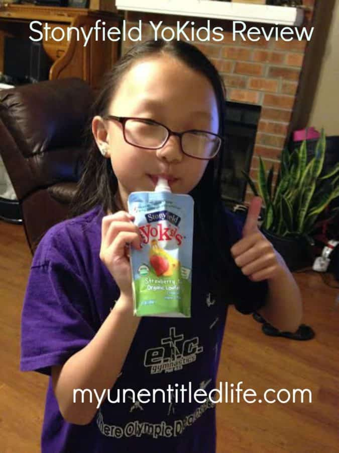 stonyfield yokids yogurt review