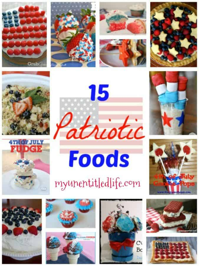 beautiful patriotic foods to take to your 4th of july party