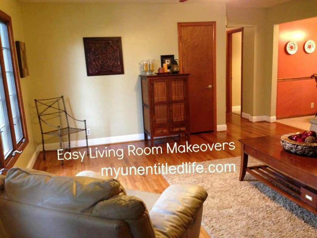easy living room makeovers