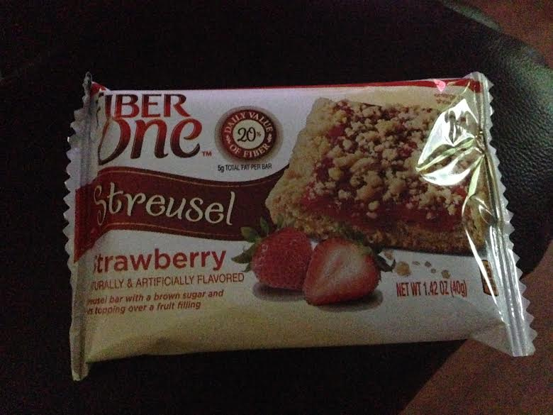 fiber one streusel review