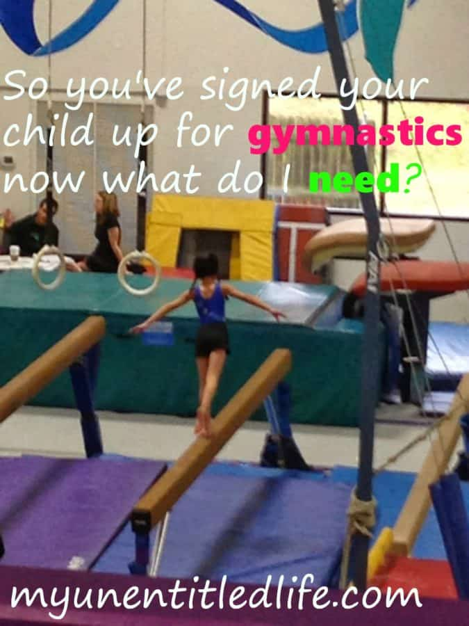 what do I need to begin gymnastics?