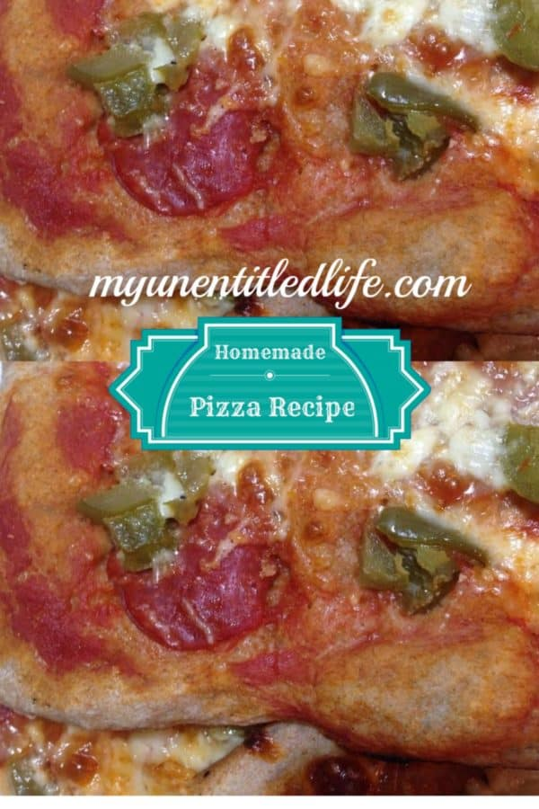 homemade pizza recipe