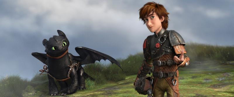 how to train your dragon 2 ..