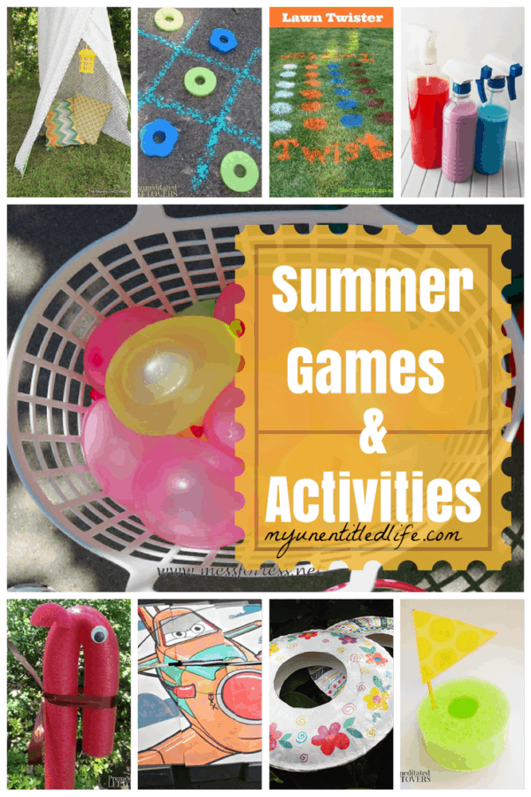 summer games and activities for children