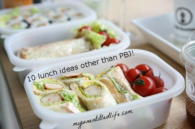 10 lunch box ideas