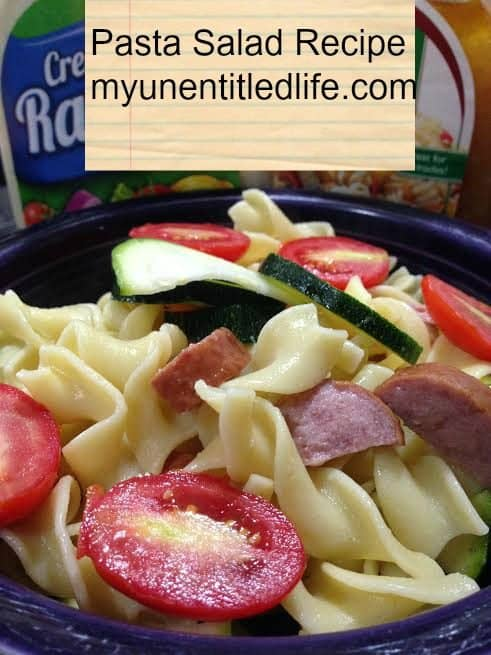 simple to make pasta salad for busy nights
