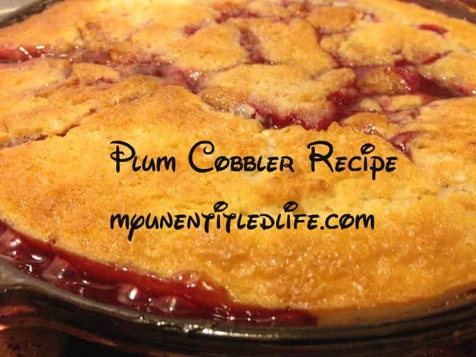 plum cobbler 2