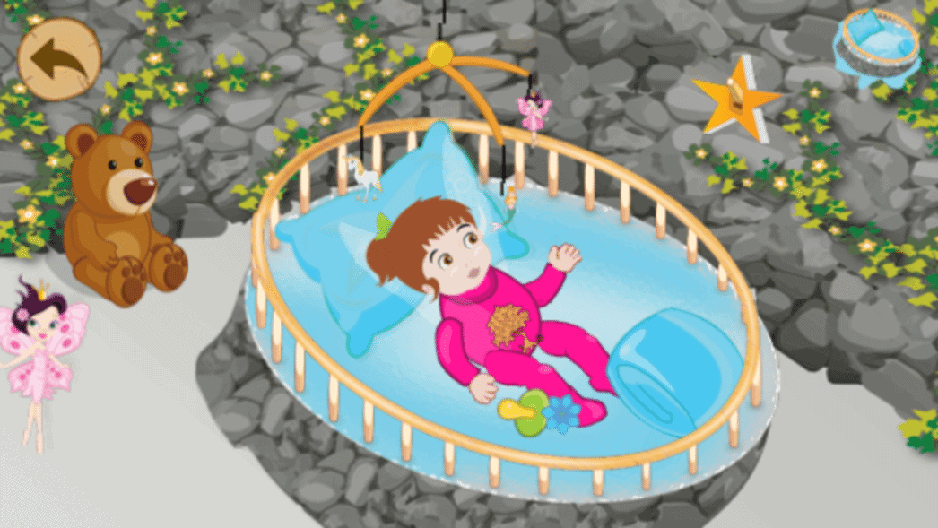nap baby fairies