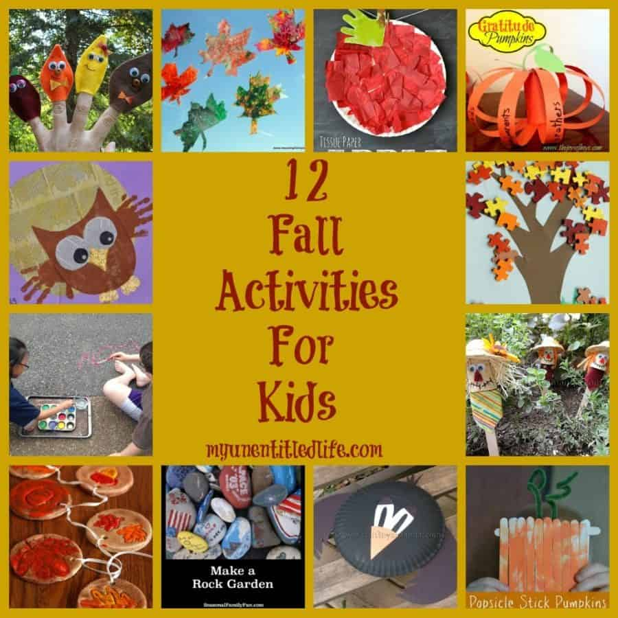 12 fall activities