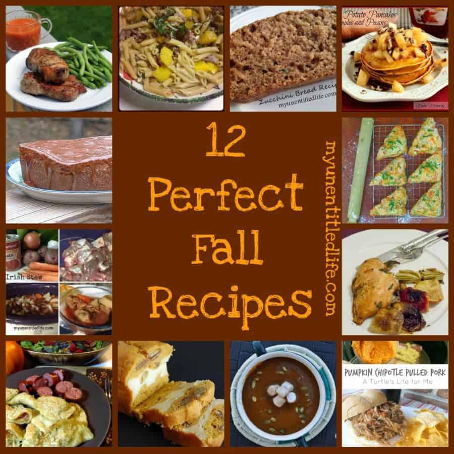 12 perfect fall recipes