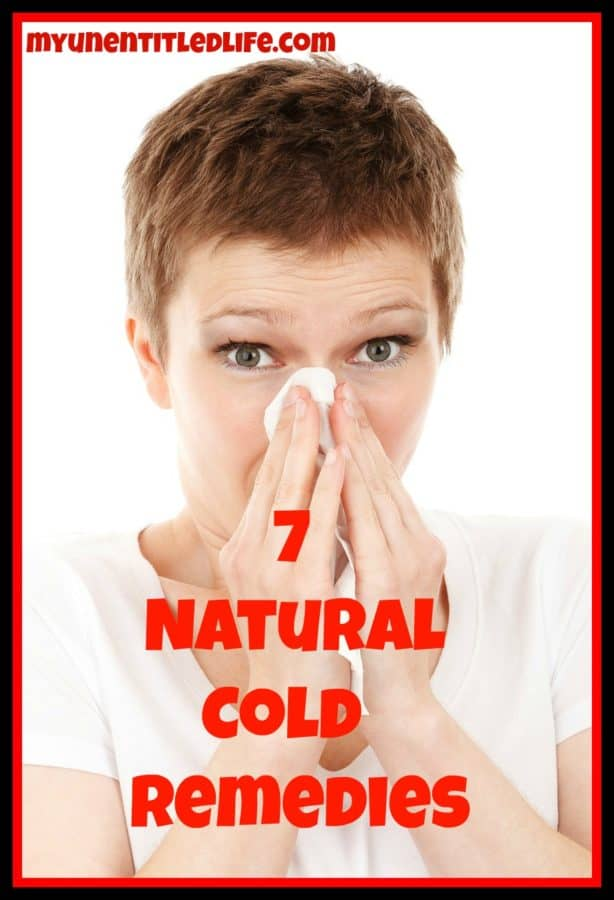 7 natural cold remedies
