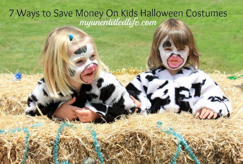 7 Ways to Save Money On Kids Halloween Costumes