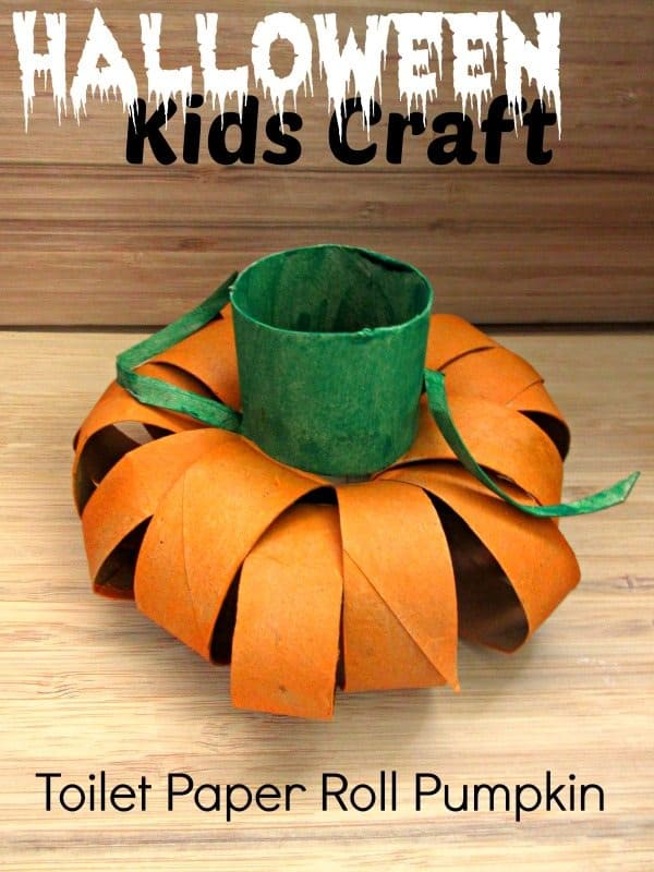 Halloween-Kids-Craft-Toilet-Paper-Pumpkin