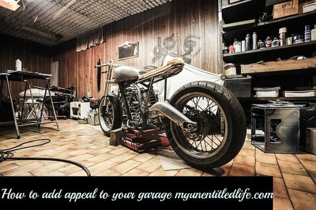 how to add appeal to your garage