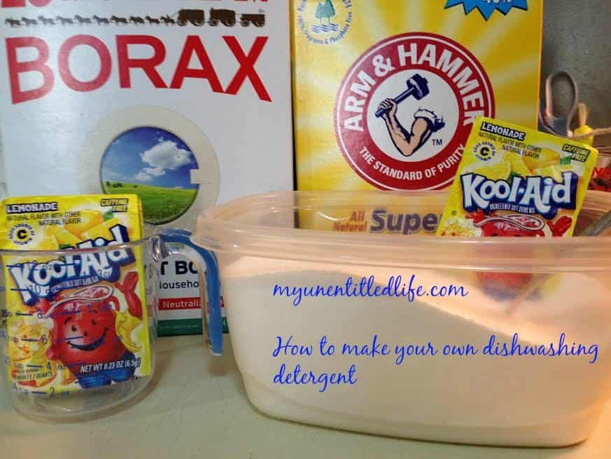 make your own dishwasher detergent ingredients 1