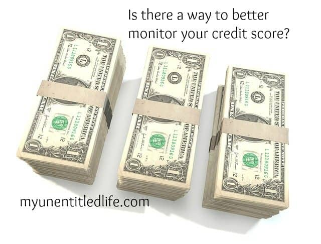 monitor your credit score