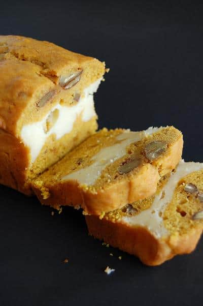 pump spice bread with layer