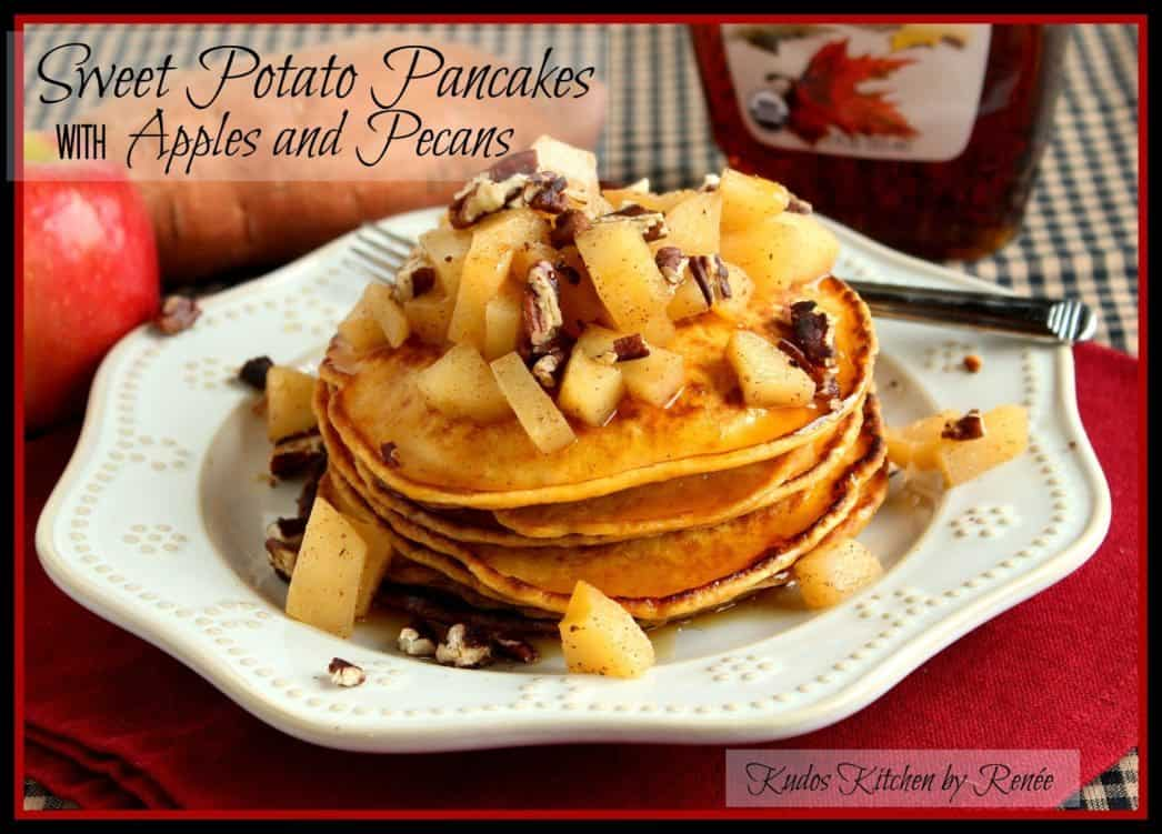sweet potato pancakes with apple and pecan topping - finish 1 - picmonkey