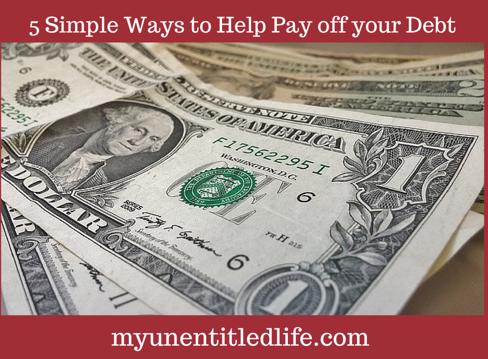 ways to help pay off your debt