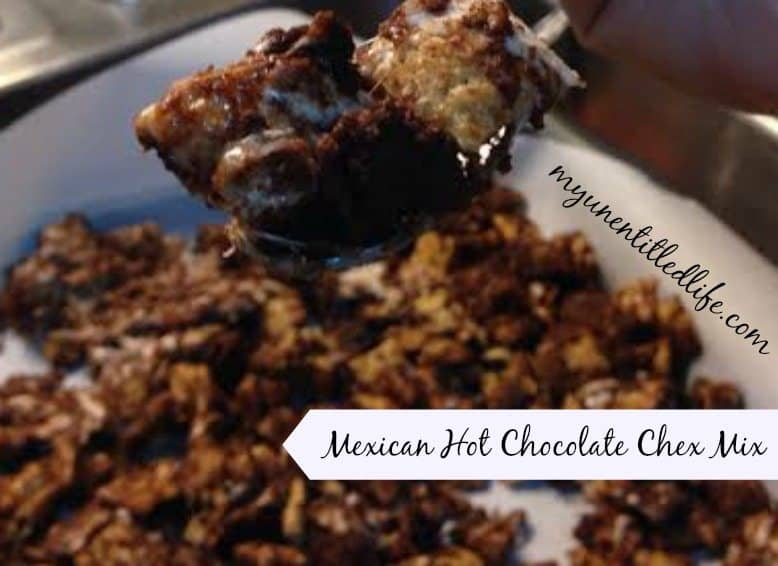 mexican hot chocolate chex mix recipe