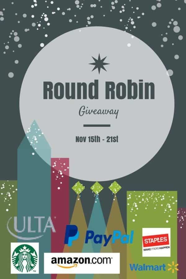 round robin giveaway