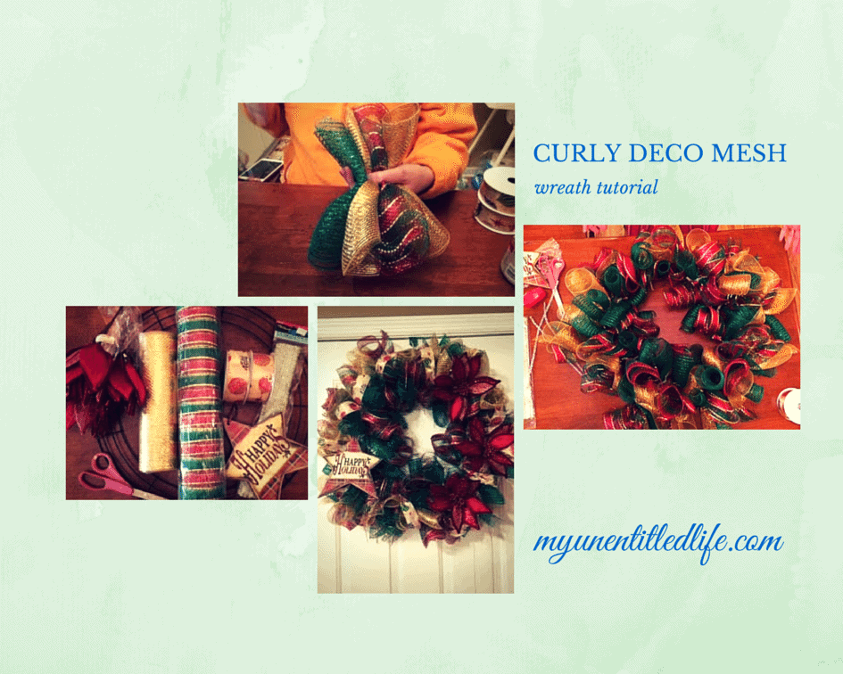 curly deco mesh wreath tutorial