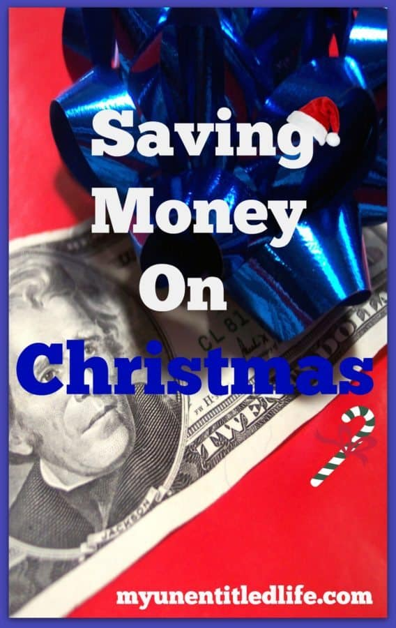 saving money on christmas