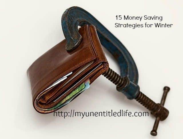 15 money saving strategies for winter