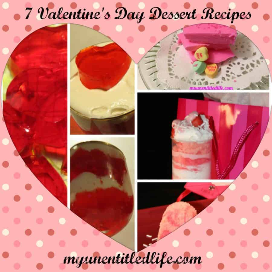 Valentine's Day Dessert Recipes